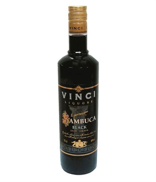 Sambuca Vinci Black 40% alc.